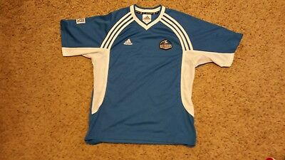 VINTAGE 1997 ADIDAS MLS KANSAS CITY WIZARDS RAINBOW JERSEY Rare ... 4cfd3619a