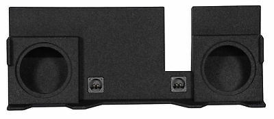 """Dual 10"""" Vented Subwoofer Sub Box Enclosure For 04-08 Ford F150 SuperCrew/Xcab"""
