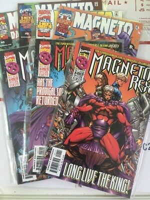 Magneto Rex 1, 2, 3 set PLUS Magneto Dark Seduction 1, 2, 3, 4  x-men x2 lot