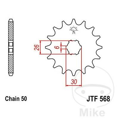 JT Front Sprocket 15T 520 Pitch JTF565.15 Kawasaki W 800 A Special 2012
