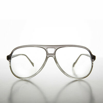 Gray Aviator Magnifying Vintage Reading Glasses 3.00 Diopter - Porgy