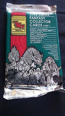 Tsr 1993 Series - Fantasy Collector Cards- Booster Pack -  Ovp -