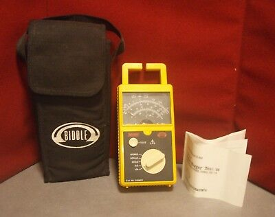 Biddle Megger Catalog 210802  Battery Resistance Tester | Used | #7790