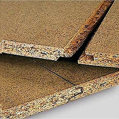 Chipboard Flooring 2400 x 600 x 18mm Tongue Grooved Bathroom Loft 10 Sheets