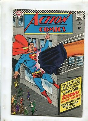 Action Comics #343 - More Powerful Than Superman Himself! - (6.0) 1966