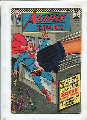 Action Comics #343 - From The Center Of The Earth! - (4.0) 1966