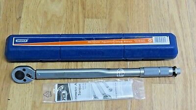 Draper 3001A//BK 1//2In Square Drive Ratchet Torque Wrench