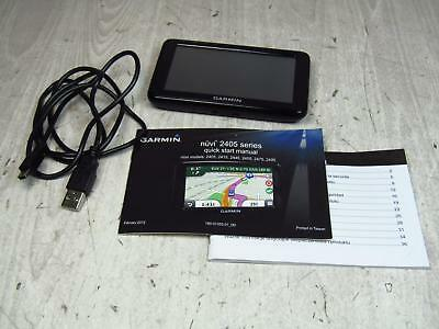 Garmin Nuvi GPS System 2455LMT with Instructions and USB Cord