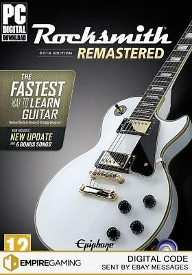 Rocksmith® 2014 Edition - Remastered PC / Mac (Steam Download Key)