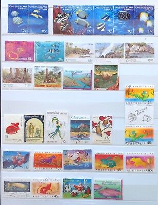 Christmas Island Fine Used Stamps (100 stamps + 2 M/S)