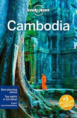 NEW Cambodia By Lonely Planet Travel Guide Paperback Free Shipping