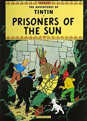 Prisoners of the Sun (The Adventures of Tintin) by Herge Paperback Book The