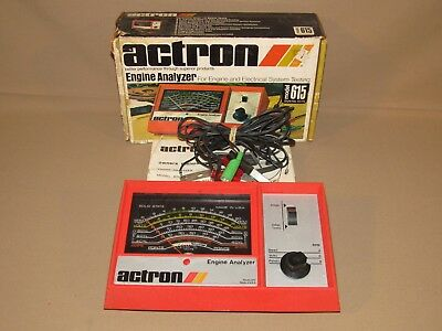 ACTRON Model 815 Engine Analyzer Made in USA In Box