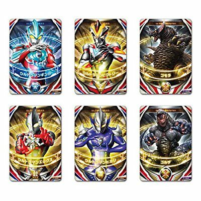 Ultraman Orb Ultra Fusion card Legend Fusion set