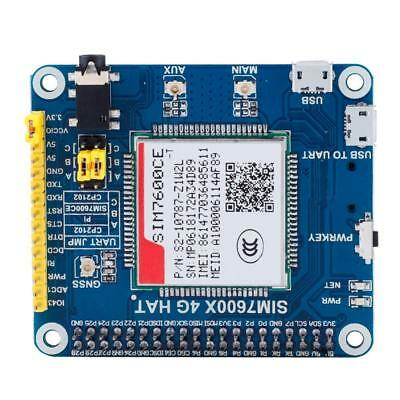 SIM7600E-H 4G/3G/2G/GSM/GPRS/GNSS HAT for Raspberry Pi 4