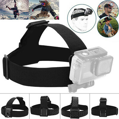 Outdoor Camera Head Strap Mount Belt Elastic Adjustable Headband For GoPro Hero