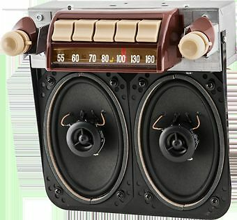1947-1953 Chevy/GMC Truck AM/FM Stereo Radio 48-49-50 With Spealers