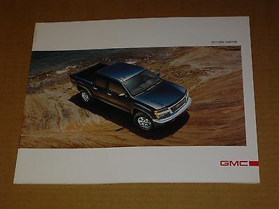 2011 Gmc Canyon Sales Brochure Mint! 20 Pages