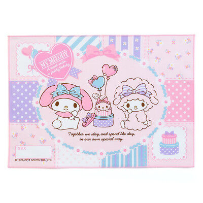 My Melody & My Sweet Piano place mat Patchwork Sanrio Made in Japan Bento Lunch
