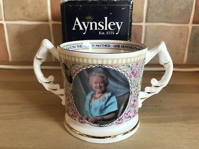 Ansley Commemorative HRH The Queen Mother 100th Mug