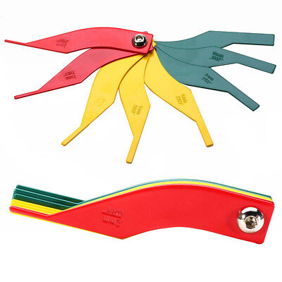 8in1 Multi Automotive Brake Pad Feeler Lining Thickness Gauge Measure Ruler NEW