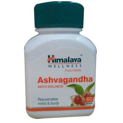 PURE ASHWAGANDHA EXTRACT  Anxiety & Stress Relief - 60 TABLETS