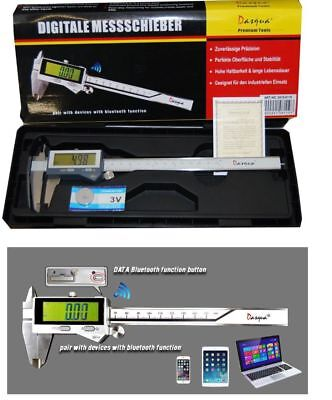 "Dasqua Bluetooth Digital Vernier Caliper 8"" / 200 mm Ref: 24108110 From Chronos"