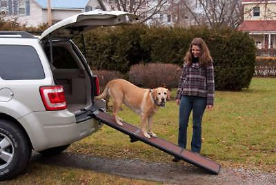 Rosewood Pet Gear Travel Light Tri-Fold Folding Car Ramp For Pet Dog