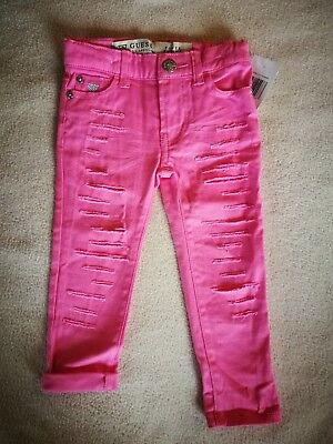 Guess Jeans Girl Pink Size 2 - NEW WITH TAG