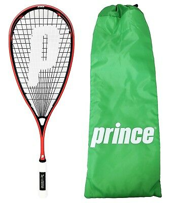 Prince Pro Airstick Lite 550 Textreme Squash Racket + Cover RRP £120