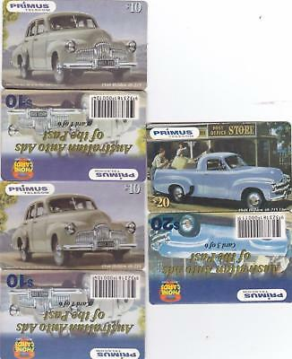 Primus Holden 3 X $10 All Joined As Per Issued With Instructions Rare Rare  P81