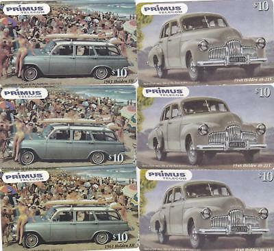 Primus Holden Series $10 1948  X 3 Exp Jan 2003 And 1963 Eh X 3 Exp 12/2002  P80