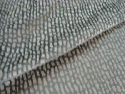 "One yard LEE JOFA Cut VELVET STONEWALL PEWTER Upholstery FABRIC 54"" x 36"" BTY"