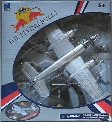 NewRay B-25J Mitchell The Flying Bulls Red Bull 1:72 Neu/OVP Flugzeug-Modell