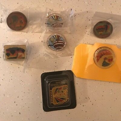Albuquerque International Balloon Fiesta Pin Lot - '88,'90,'91-93,'95