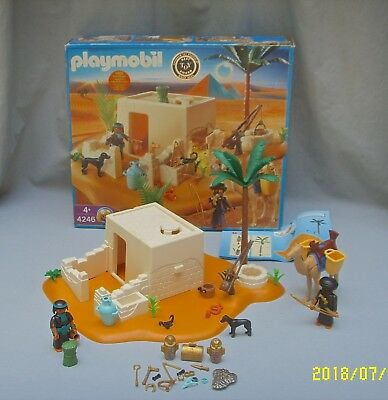 nwt playmobil 4246 egyptian tomb with treasure 91 pieces new sealed