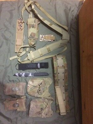 Webbing Austcam Army New And Used , Mixed Issue And Aftermarket