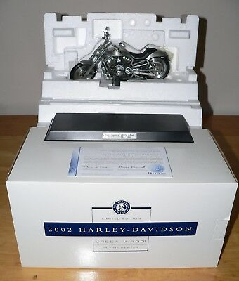Franklin Mint Limited Edition VRSCA V-Rod & 4 Authentic Harley Accessories