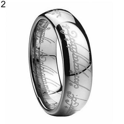 Lord of the rings 2 piece jewelry set ring necklace men woman