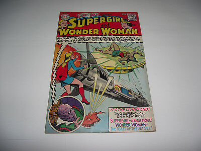 Dc The Brave And The Bold #63 Supergirl And Wonder Woman 1960S