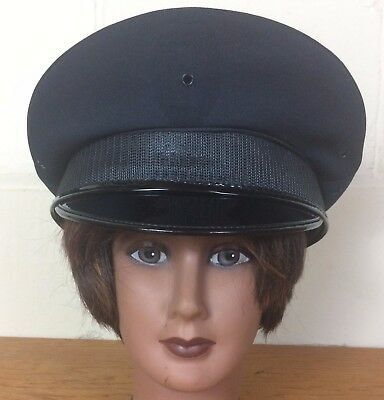 Midway Cap Co Chicago Police Department Midnight Navy Uniform Hat, Size 7