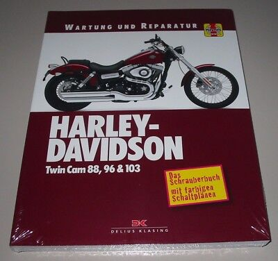 Reparaturanleitung Harley Davidson Twin Cam 88, 96, 103 Softail, Touring, Dyna