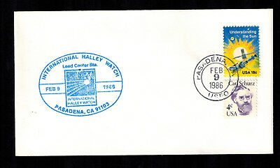 International Halley Watch - USA Mischfrankatur -  Pasadena Sonderstempel 1986