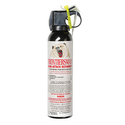 Sabre Frontiersman Bear Spray and Attack Deterrent - 7.9 oz.