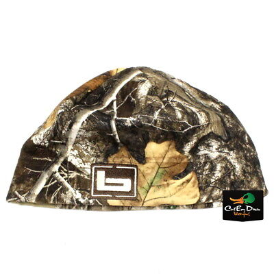 b45c8643d40 NEW BANDED GEAR UFS FLEECE BEANIE SKULL CAP HAT b LOGO REALTREE EDGE CAMO