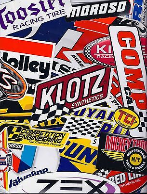 Assortment Set Lot of 25+ Racing Decals Stickers NHRA US FREE SHIPPING