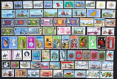 Guernsey - 80+ Used Stamps - All Different
