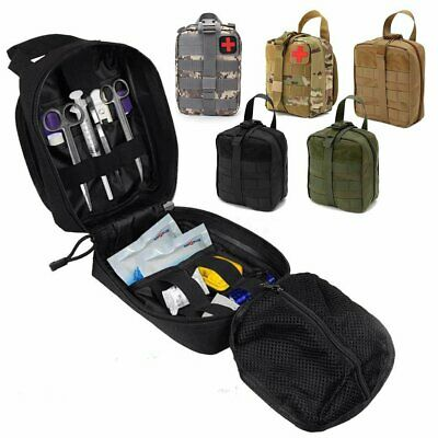 Tactical Travel Molle Medical First Aid EMT Bag Emergency Pack Survival Outdoor