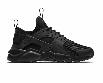 new product 93806 ee328 Nike Air Huarache Run Ultra GS 847569 004 Boys Trainers Black Gym Running  Shoes
