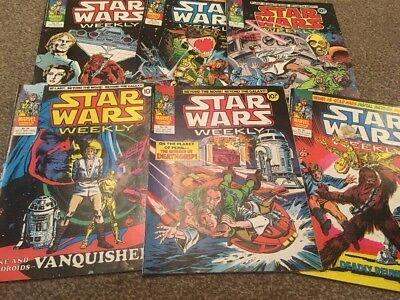 Star Wars Weekly Issues 21-26